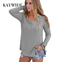 Winter Knitted Full Sleeve Casual T Shirt