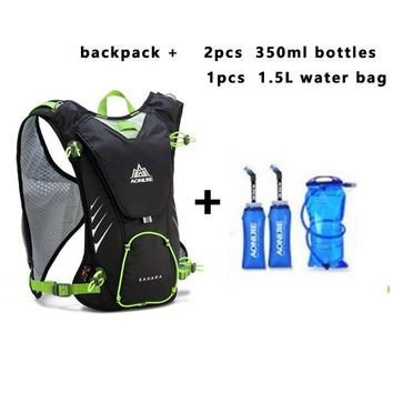 Sports gym bag New AONIJIE Uisex Outdoor Sports Lightweight Running 8L Backpack Marathon Cycling Hiking Water bag Backpack equipment KO_5_1