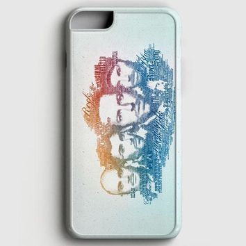 Coldplay Faces Lyrics Design iPhone 6 Plus/6S Plus Case