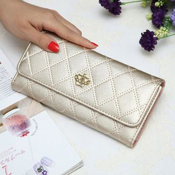 Royal Regal Gorgeous Princess Quilted Wallet