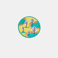 Mokuyobi Threads Nature Park Iron-On Patch - Urban Outfitters