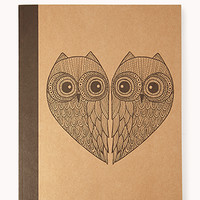 Owl Lover Notebook