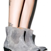 One Teaspoon Le Rebel Suede Bootie | Dolls Kill