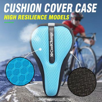 Bicycle Saddle Soft Breathable MTB Bike Saddle Seat Cushion Cover Mat Pad Cycling Accessories Part