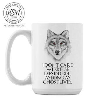 GOT Ghost Lives - Mug