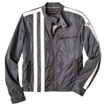 Members Only® Men's 60's Racer Jacket - Gray
