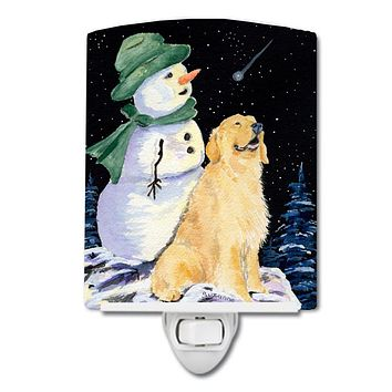 Golden Retriever Ceramic Night Light SS8577CNL