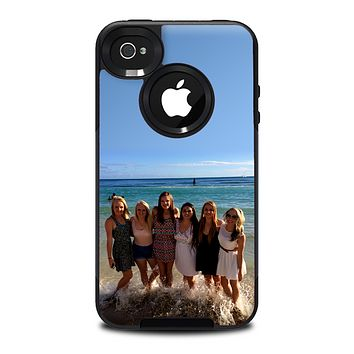 The Add Your Own Image Skin for the iPhone 4-4s OtterBox Commuter Case