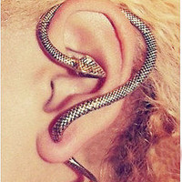 Unique Punk Style Snake Stud Earrings sp0001 from lovely girls