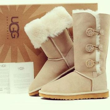 One-nice™ UGG Women Trending Fashion Wool Snow Boots