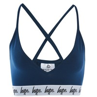 **Navy Taped Bra by Hype | Topshop