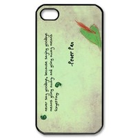 Fashion Peter Pan Personalized iPhone 4 4S Hard Case Cover -CCINO