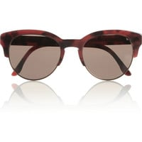 Stella McCartney | Cat eye acetate and metal sunglasses | NET-A-PORTER.COM