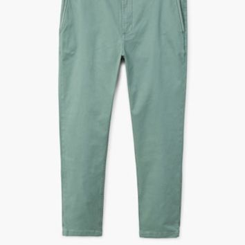 Belted cotton chinos - Man | MANGO Man United Kingdom