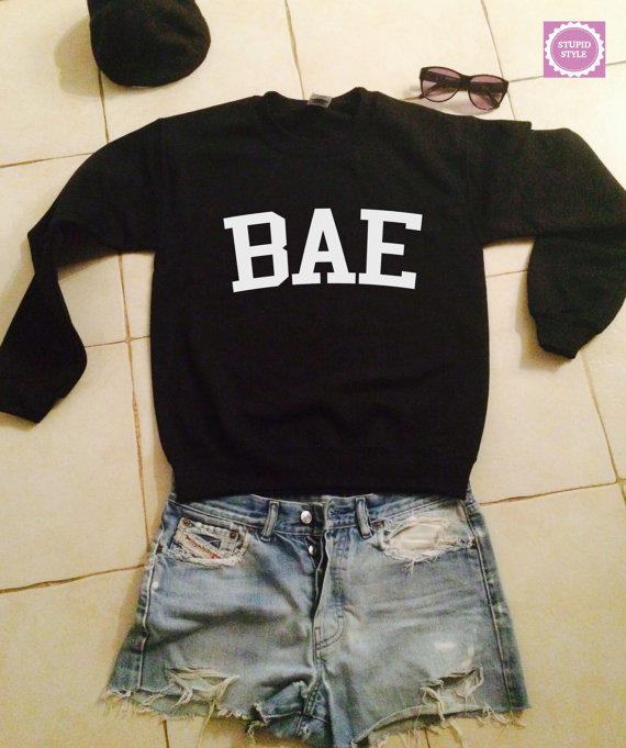 BAE sweatshirt jumper gifts cool fashion from stupidstyle ... Cool Hoodies For Teenage Girls