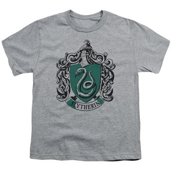 Harry Potter - Slytherin Crest Short Sleeve Youth 18/1 Shirt Officially Licensed T-Shirt