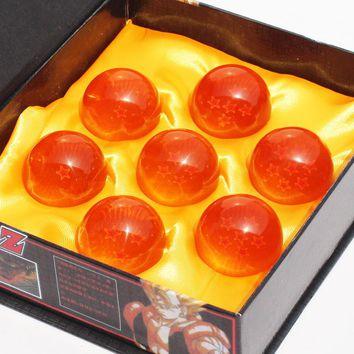 Dragon Ball Z 3.5CM DragonBall Figure 7 Stars Crystal Ball