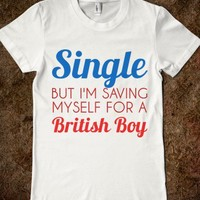 single: but i'm saving myself for  a british boy - glamfoxx.com
