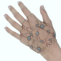 Stars Diamond Chain Hand Bracelet