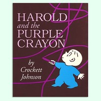 Harold & the Purple Crayon by C. Johnson in Classics | The Land of Nod