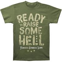 Florida Georgia Line Men's  Ready To Raise Some T-shirt Military