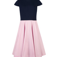 Full skirt dress - Baby Pink | Dresses | Ted Baker