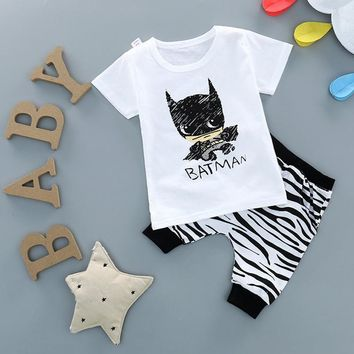 0-4 Years Toddler Boys Clothing Sets 2pcs Cartoon T Shirt+Camouflage Harem Pants Kids Boy Outfits Suits Children Clothes Z196