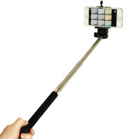 Loadstone Studio Telescopic Selfie Stick Handheld GoPro Cell Phone Black LTG709