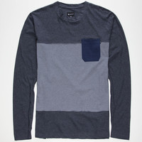 Matix Mayline Mens Pocket Tee Charcoal  In Sizes