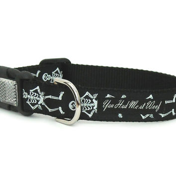 Mr. Bones Dog Collar