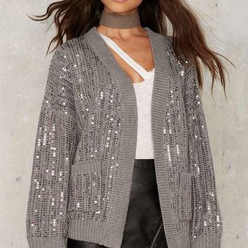 Hooper Sequin Cardigan