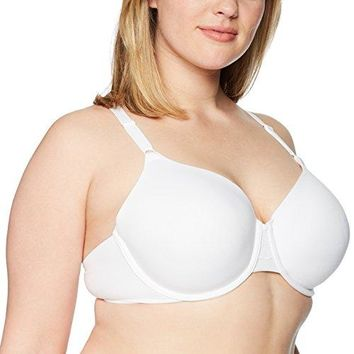Warners Womens Plus Size Simply Perfect Supersoft With Lace Back Underwire Bra