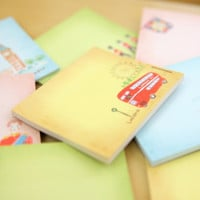 London Theme Sticky Note