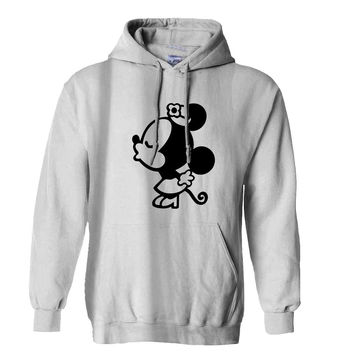 Mickey minnie couple women Hoodie for Mens Hoodie and Womens Hoodie ***