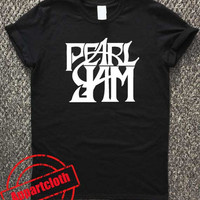 pearl jam band logo T-Shirt Unisex Adults Size S to 2XL
