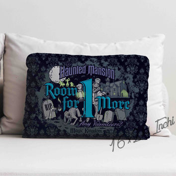 New Disney Haunted Mansion Room For One More High Quality Pillow Case 16 x 24
