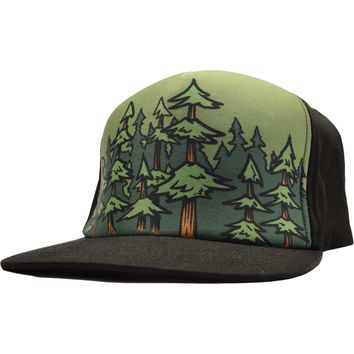 Flat Bill Lumberjack Custom Flex Hat