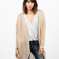 Long Dolman Cardigan