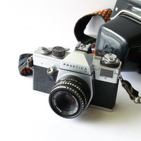 Vintage Camera German PRAKTICA L B  35  mm by MrsRekamepip on Etsy