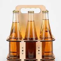 Urban Outfitters - Wooden Six Pack Carrier