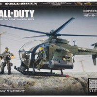 Mega Bloks Call of Duty Chopper Strike, Model 06816, 278 Piece
