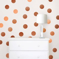 Confetti Dots - Copper