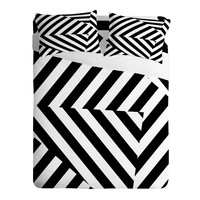 Three Of The Possessed Dazzle Uptown Sheet Set