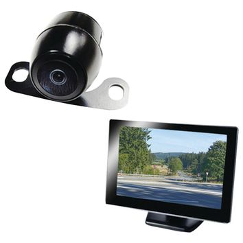 "Boyo 5"" Rearview Monitor With License-plate Camera"