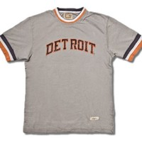 Detroit Tigers 1984 Remote Control Retro T-Shirt by Red Jacket - Small