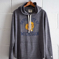 Tailgate Michigan Oversize Hoodie, Charcoal