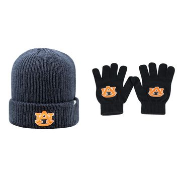 Licensed NCAA  Heavy Beanie Hat And TOW Knit Glove 2 Pack 68566 KO_19_1