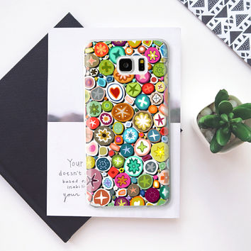 millefiori transparent Samsung Galaxy Note 5 case by Sharon Turner | Casetify