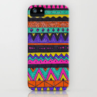 Pattern iPhone Case by Mariam Tronchoni