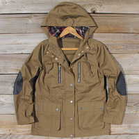 Forest Shadow Elbow Patch Coat